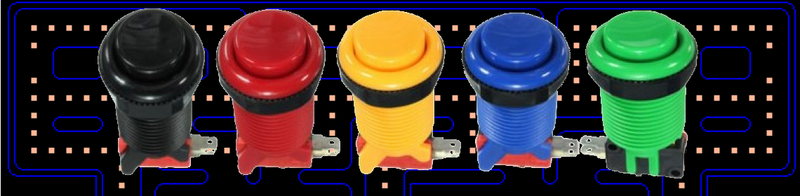 Arcade Push Buttons