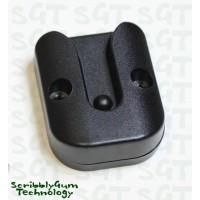 UHF/CB Microphone Holder Clip - Plastic Suits Uniden, GME, Etc