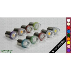 SGT Pinball LED Bulbs 6.3V #44/#47 Non-Ghosting Clear Dome SMD (Pack of 10) *Choose Colour*