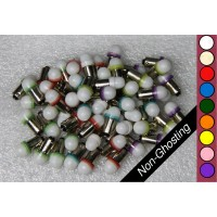 SGT Pinball LED Bulbs 6.3V BA9S #44/#47 Non-Ghosting Frosted Dome SMD (Individual LEDs Custom Pack)
