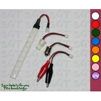 SGT Pinball LED Strip 6.3V Frosted 10xSMD2835 *Choose Colour*