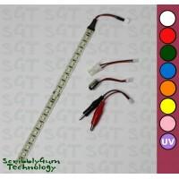 SGT Pinball LED Strip 6.3VDC Clear 20xSMD2835 *Choose Colour*