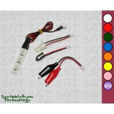 SGT Pinball LED Strip 6.3V Clear 3xSMD5050 *Choose Colour*