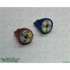 SGT Pinball LED Flame/Fire Bulb 6.3V SMD T10 #555 (Single Globe)