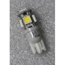SGT Pinball LED Bulb 13V T10 #906 High Top SMD White