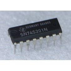 SN74S201N Static RAM Chip 256x1 Bit 16 Pin DIP IC