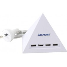 Pyramid 4 Outlet USB Express Charger