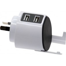 2 Port USB Fast Charger 3.1A